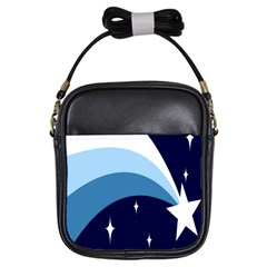 Star Gender Flags Girls Sling Bags by Mariart