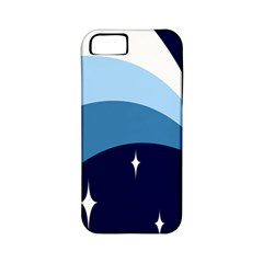Star Gender Flags Apple Iphone 5 Classic Hardshell Case (pc+silicone)
