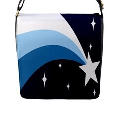 Star Gender Flags Flap Messenger Bag (l)  by Mariart