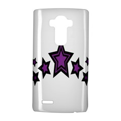 Star Purple Space Lg G4 Hardshell Case by Mariart
