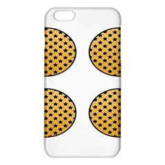 Star Circle Orange Round Polka Iphone 6 Plus/6s Plus Tpu Case by Mariart