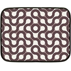 Seamless Geometric Circle Double Sided Fleece Blanket (mini)  by Mariart
