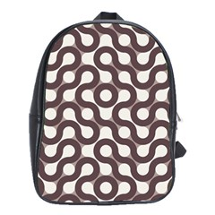 Seamless Geometric Circle School Bags(large)  by Mariart