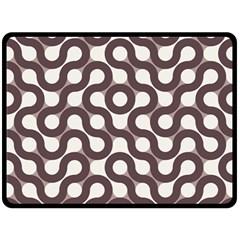 Seamless Geometric Circle Fleece Blanket (large)  by Mariart