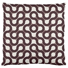 Seamless Geometric Circle Standard Flano Cushion Case (one Side) by Mariart