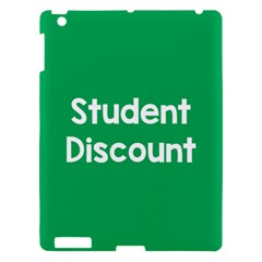 Student Discound Sale Green Apple Ipad 3/4 Hardshell Case by Mariart