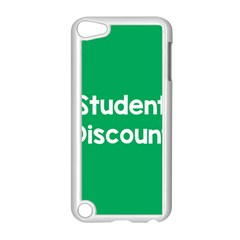 Student Discound Sale Green Apple Ipod Touch 5 Case (white) by Mariart