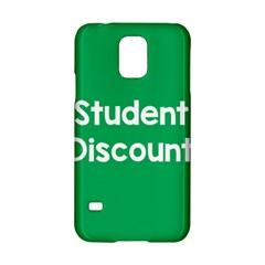 Student Discound Sale Green Samsung Galaxy S5 Hardshell Case  by Mariart