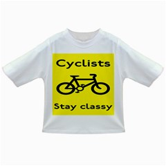 Stay Classy Bike Cyclists Sport Infant/toddler T Shirts by Mariart