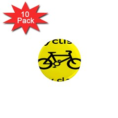 Stay Classy Bike Cyclists Sport 1  Mini Magnet (10 Pack)  by Mariart