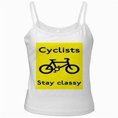 Stay Classy Bike Cyclists Sport Ladies Camisoles by Mariart