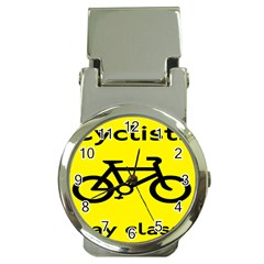 Stay Classy Bike Cyclists Sport Money Clip Watches by Mariart