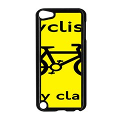 Stay Classy Bike Cyclists Sport Apple Ipod Touch 5 Case (black) by Mariart