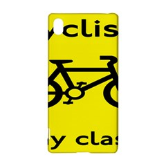 Stay Classy Bike Cyclists Sport Sony Xperia Z3+ by Mariart
