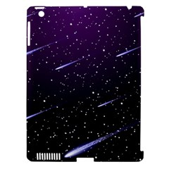 Starry Night Sky Meteor Stock Vectors Clipart Illustrations Apple Ipad 3/4 Hardshell Case (compatible With Smart Cover) by Mariart