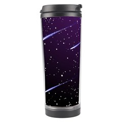Starry Night Sky Meteor Stock Vectors Clipart Illustrations Travel Tumbler by Mariart