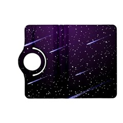 Starry Night Sky Meteor Stock Vectors Clipart Illustrations Kindle Fire Hd (2013) Flip 360 Case by Mariart