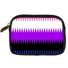 Sychnogender Techno Genderfluid Flags Wave Waves Chevron Digital Camera Cases by Mariart