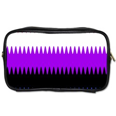 Sychnogender Techno Genderfluid Flags Wave Waves Chevron Toiletries Bags 2 Side by Mariart