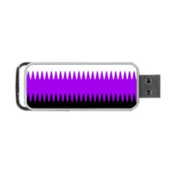 Sychnogender Techno Genderfluid Flags Wave Waves Chevron Portable Usb Flash (two Sides) by Mariart