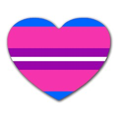 Transgender Flags Heart Mousepads by Mariart