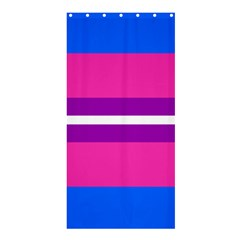 Transgender Flags Shower Curtain 36  X 72  (stall)  by Mariart