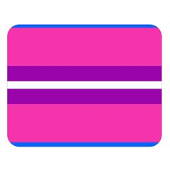 Transgender Flags Double Sided Flano Blanket (large)  by Mariart