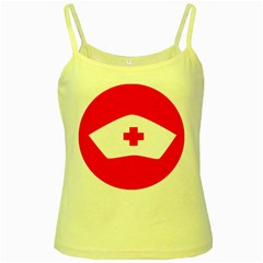 Tabla Laboral Sign Red White Yellow Spaghetti Tank by Mariart