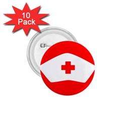 Tabla Laboral Sign Red White 1 75  Buttons (10 Pack) by Mariart