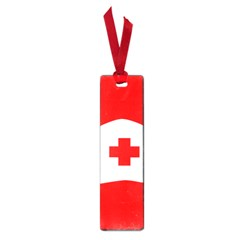 Tabla Laboral Sign Red White Small Book Marks by Mariart
