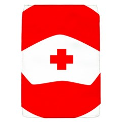 Tabla Laboral Sign Red White Flap Covers (s)  by Mariart