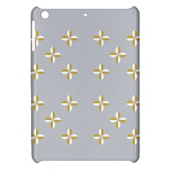 Syrface Flower Floral Gold White Space Star Apple Ipad Mini Hardshell Case by Mariart