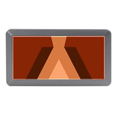 Volcano Lava Gender Magma Flags Line Brown Memory Card Reader (mini) by Mariart