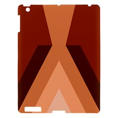 Volcano Lava Gender Magma Flags Line Brown Apple Ipad 3/4 Hardshell Case by Mariart