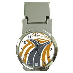 Transparent All Road Tours Bus Charter Street Money Clip Watches by Mariart