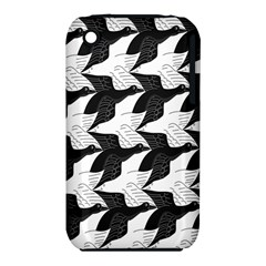Swan Black Animals Fly Iphone 3s/3gs by Mariart