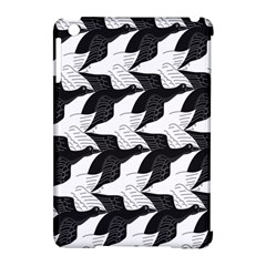 Swan Black Animals Fly Apple Ipad Mini Hardshell Case (compatible With Smart Cover) by Mariart