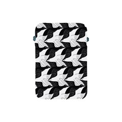 Swan Black Animals Fly Apple Ipad Mini Protective Soft Cases by Mariart