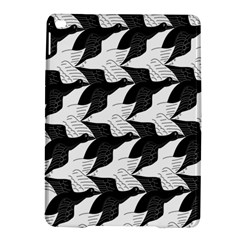 Swan Black Animals Fly Ipad Air 2 Hardshell Cases by Mariart