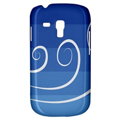 Ventigender Flags Wave Waves Chevron Leaf Blue White Galaxy S3 Mini by Mariart