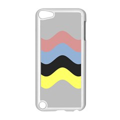 Wave Waves Chevron Sea Beach Rainbow Apple Ipod Touch 5 Case (white) by Mariart