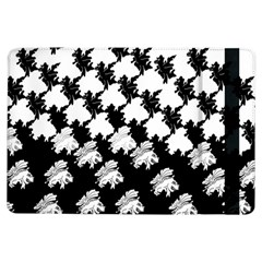 Transforming Escher Tessellations Full Page Dragon Black Animals iPad Air Flip by Mariart