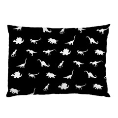Dinosaurs Pattern Pillow Case (two Sides) by Valentinaart