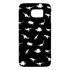 Dinosaurs Pattern Galaxy S6 by Valentinaart