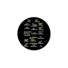 Dinosaurs Names Golf Ball Marker (10 Pack) by Valentinaart
