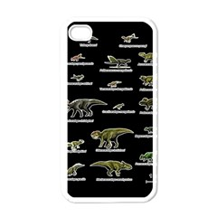 Dinosaurs Names Apple Iphone 4 Case (white) by Valentinaart