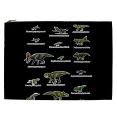 Dinosaurs Names Cosmetic Bag (xxl)  by Valentinaart