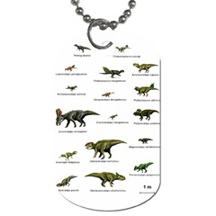 Dinosaurs Names Dog Tag (two Sides) by Valentinaart