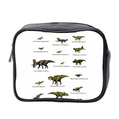 Dinosaurs Names Mini Toiletries Bag 2 Side by Valentinaart
