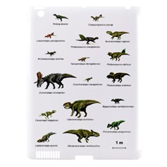 Dinosaurs Names Apple Ipad 3/4 Hardshell Case (compatible With Smart Cover) by Valentinaart
